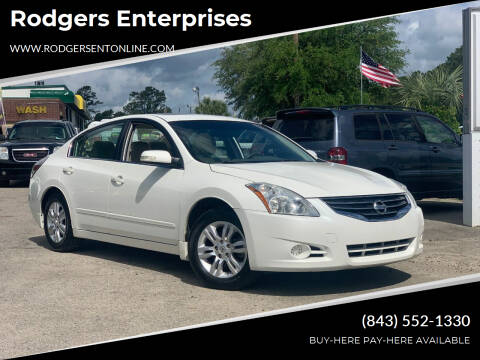 2011 Nissan Altima for sale at Rodgers Enterprises in North Charleston SC