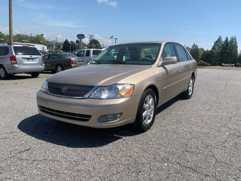 2001 Toyota Avalon for sale at Hillside Motors Inc. in Hickory NC