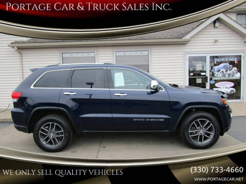 2017 Jeep Grand Cherokee for sale at Portage Car & Truck Sales Inc. in Akron OH