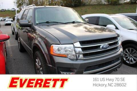 2017 Ford Expedition for sale at Everett Chevrolet Buick GMC in Hickory NC