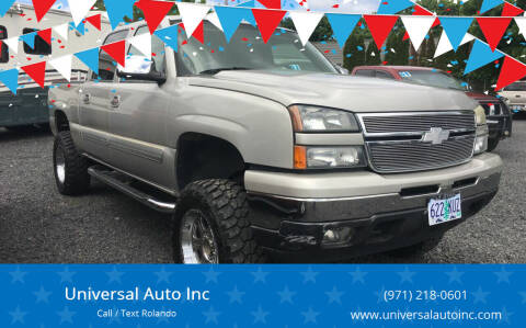 2007 Chevrolet Silverado 1500 Classic for sale at Universal Auto INC in Salem OR