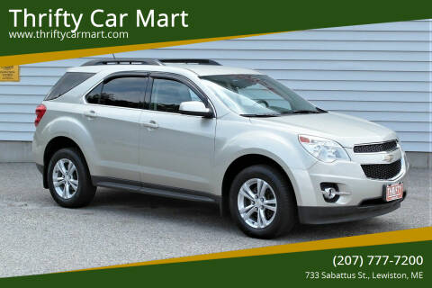 2014 Chevrolet Equinox for sale at Thrifty Car Mart in Lewiston ME
