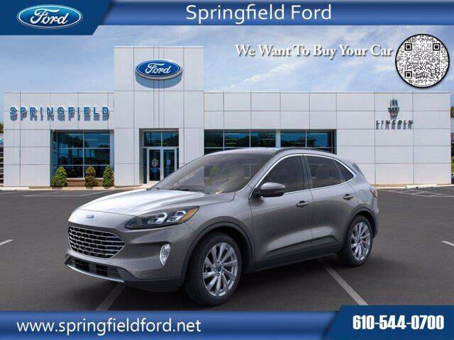2021 Ford Escape Hybrid for sale in Springfield, PA
