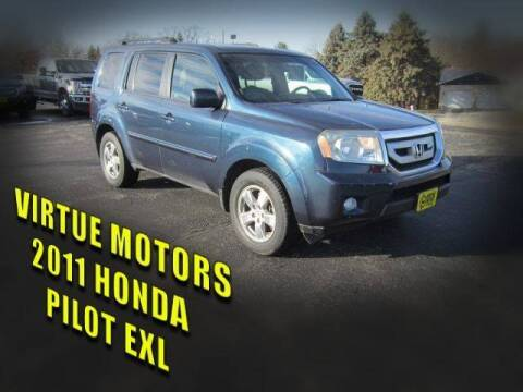 2011 Honda Pilot for sale at Virtue Motors in Darlington WI
