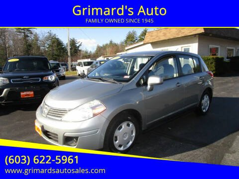 2009 Nissan Versa for sale at Grimard's Auto in Hooksett, NH