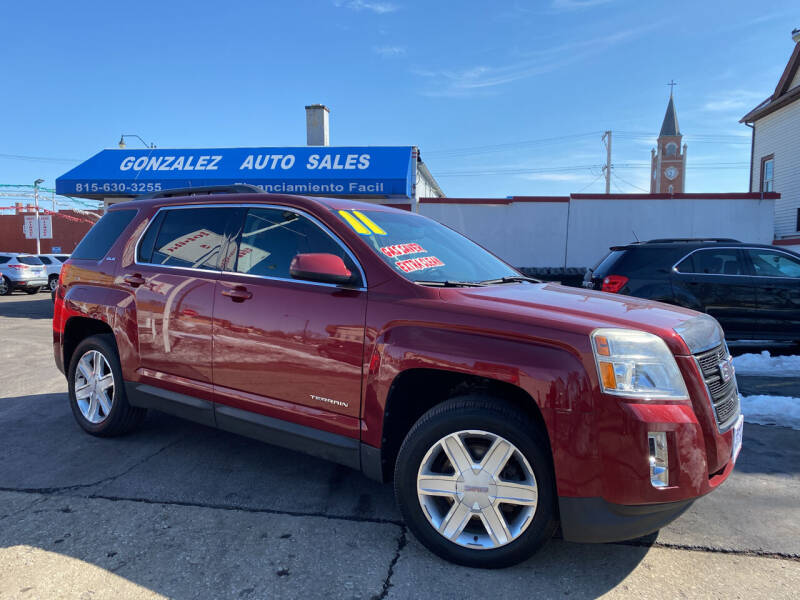 2011 GMC Terrain for sale at Gonzalez Auto Sales in Joliet IL