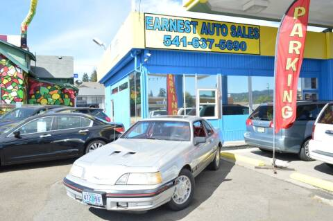 1988 Ford Thunderbird for sale at Earnest Auto Sales in Roseburg OR
