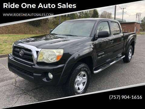2005 Toyota Tacoma for sale at Ride One Auto Sales in Norfolk VA