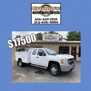 2011 Chevrolet Silverado 3500HD for sale at CRUMP'S AUTO & TRAILER SALES in Crystal City MO