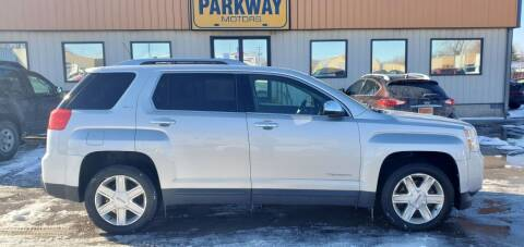 2010 GMC Terrain for sale at Parkway Motors in Springfield IL