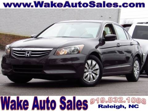 2011 Honda Accord for sale at Wake Auto Sales Inc in Raleigh NC