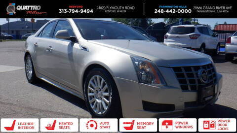 2013 Cadillac CTS for sale at Quattro Motors 2 - 1 in Redford MI