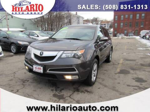 2010 Acura MDX for sale at Hilario's Auto Sales in Worcester MA