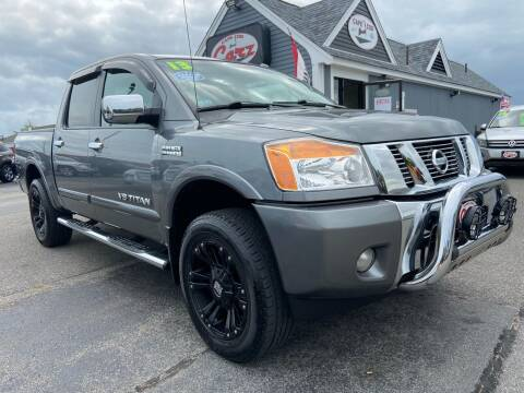 2013 Nissan Titan for sale at Cape Cod Carz in Hyannis MA