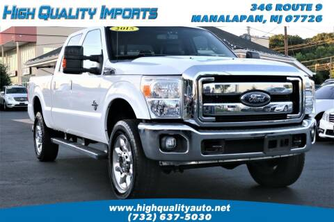 2015 Ford F-350 Super Duty for sale at High Quality Imports in Manalapan NJ