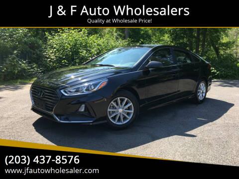 2018 Hyundai Sonata for sale at J & F Auto Wholesalers in Waterbury CT