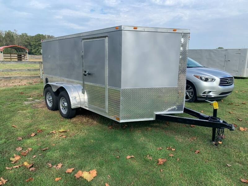 2020 Used Cynergy 7x12 ADV Enclosed Trailer for sale at Tripp Auto & Cycle Sales Inc in Grimesland NC