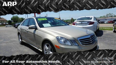 2013 Mercedes-Benz E-Class for sale at ARP in Waukesha WI