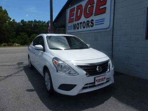 2019 Nissan Versa for sale at Edge Motors in Mooresville NC