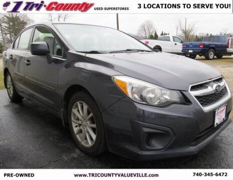 2014 Subaru Impreza for sale at Tri-County Pre-Owned Superstore in Reynoldsburg OH