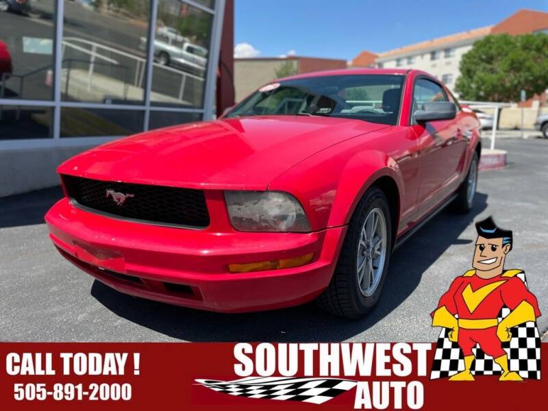 2005 Ford Mustang for sale at SOUTHWEST AUTO in Albuquerque NM