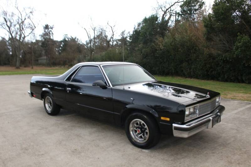 1987 Chevrolet El Camino for sale at Clear Lake Auto World in League City TX