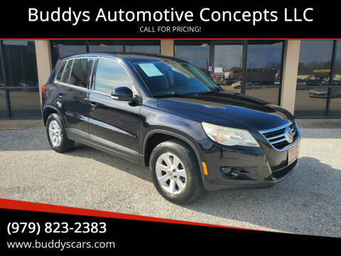 2010 Volkswagen Tiguan for sale at Buddys Automotive Concepts LLC in Bryan TX