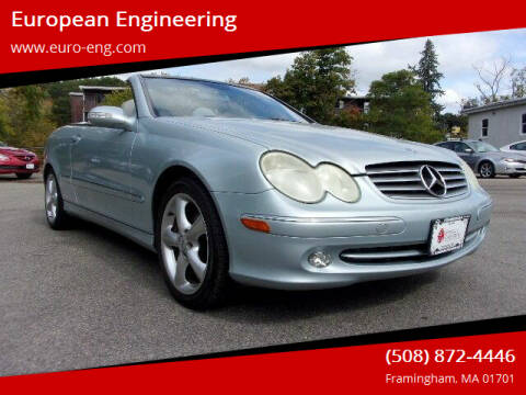 2005 Mercedes-Benz CLK for sale at European Engineering in Framingham MA