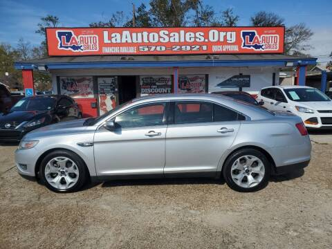 2012 Ford Taurus for sale at LA Auto Sales in Monroe LA
