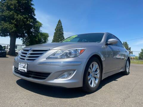 2013 Hyundai Genesis for sale at Pacific Auto LLC in Woodburn OR