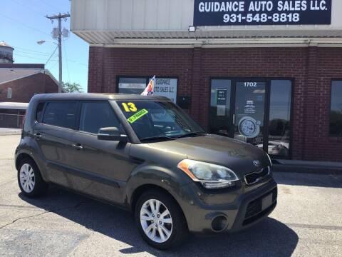 2013 Kia Soul for sale at Guidance Auto Sales LLC in Columbia TN