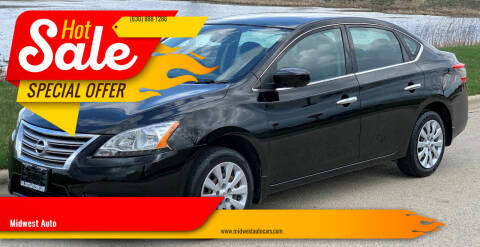 2014 Nissan Sentra for sale at Midwest Auto in Naperville IL