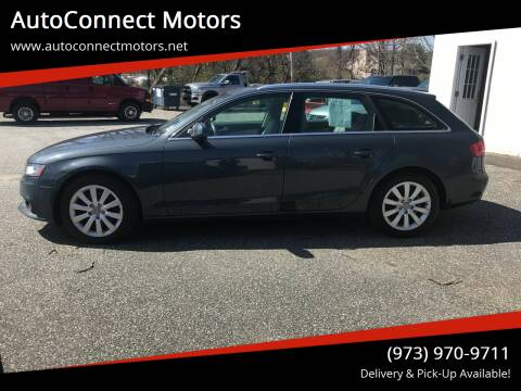 2010 Audi A4 for sale at AutoConnect Motors in Kenvil NJ