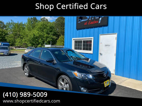 2014 Toyota Camry for sale at Shop Certified Cars in Easton MD