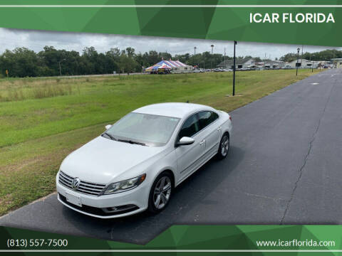 2013 Volkswagen CC for sale at ICar Florida in Lutz FL