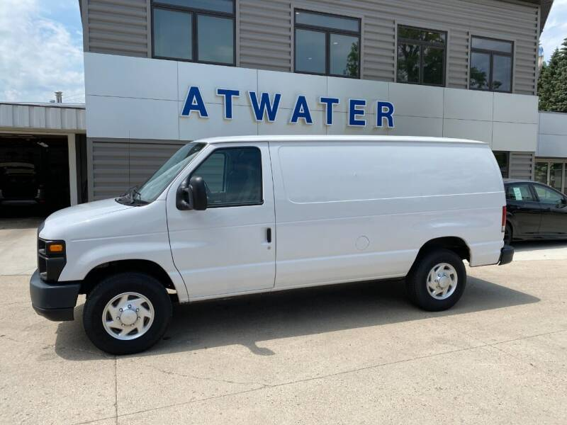 2013 Ford E-Series Cargo for sale at Atwater Ford Inc in Atwater MN