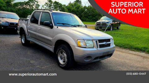 2003 Ford Explorer Sport Trac for sale at SUPERIOR AUTO MART in Amelia OH