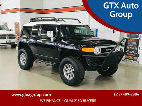 2012 Toyota FJ Cruiser for sale at GTX Auto Group in West Chester OH