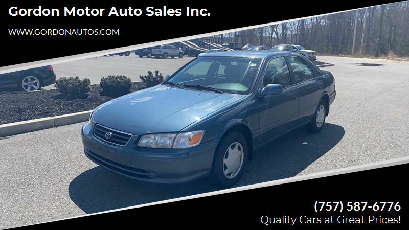 2000 Toyota Camry for sale at Gordon Motor Auto Sales Inc. in Norfolk VA