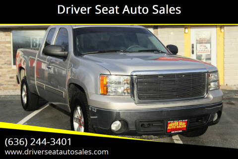 2008 GMC Sierra 1500 for sale at Driver Seat Auto Sales in St. Charles MO