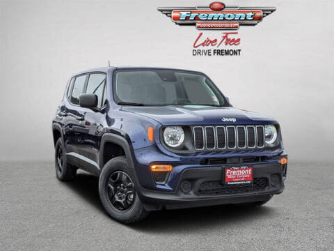 2021 Jeep Renegade for sale at Rocky Mountain Commercial Trucks in Casper WY
