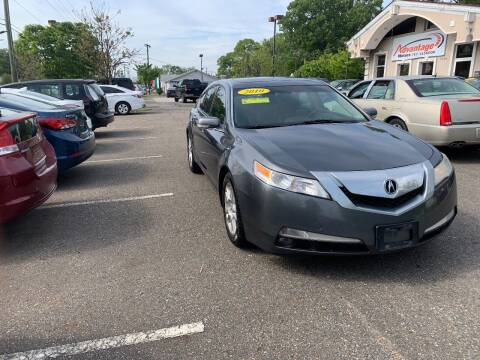2010 Acura TL for sale at Advantage Motors in Newport News VA