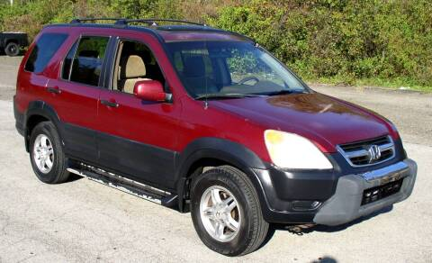2003 Honda CR-V for sale at Angelo's Auto Sales in Lowellville OH