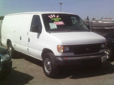 2003 Ford E-Series Cargo for sale at Valley Auto Sales & Advanced Equipment in Stockton CA