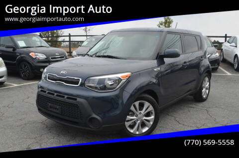 2015 Kia Soul for sale at Georgia Import Auto in Alpharetta GA
