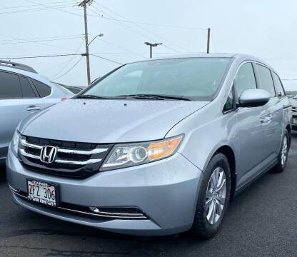 2017 Honda Odyssey for sale at PONO'S USED CARS in Hilo HI