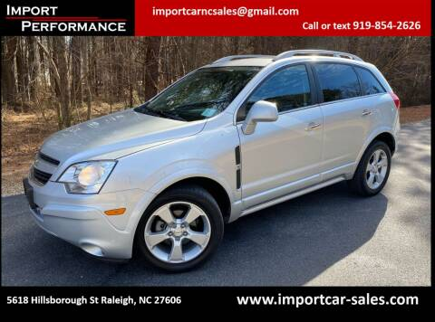 2014 Chevrolet Captiva Sport for sale at Import Performance Sales in Raleigh NC