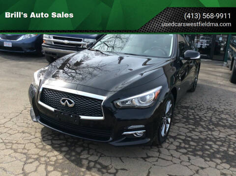 2015 Infiniti Q50 for sale at Brill's Auto Sales in Westfield MA