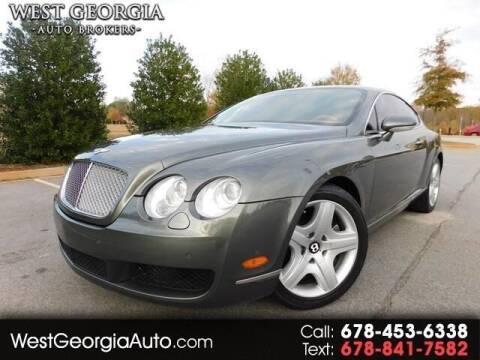 2005 Bentley Continental for sale at West Georgia Auto Brokers in Douglasville GA