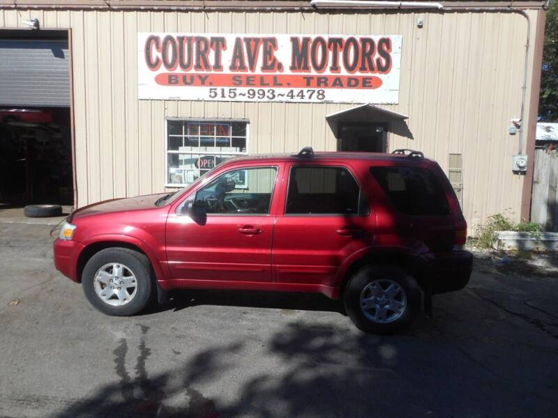 2006 Ford Escape for sale at Court Avenue Motors in Adel IA